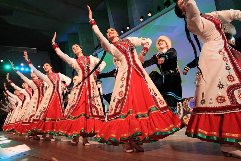 Большой татарский концерт бер курешу - узе бер гомер (одна встреча - это целая жизнь)цкд зеленоград, 30 ноября 2013 г